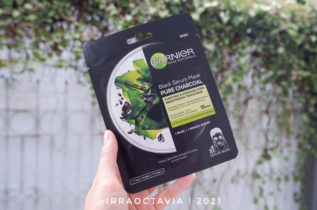 Garnier Black Serum Mask Pure Charcoal